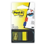 Indeksi 3M Post-it 680-5 dzelteni 25x43mm/50l.