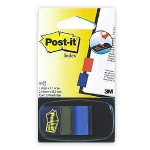 Indeksi 3M Post-it 680-2 zili 25x43mm/50l.
